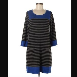 Jessica Howard Color Block Cotton Dress